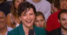 Juliette Binoche  - Le Grand Journal du 22/05