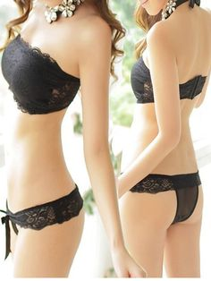 1dc5afa4b6b94 New Arrival Hot Sale Women Sexy Lace Push Up Strapless Chest Wrap Set Four  Hook-