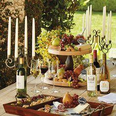 Repurpose your favorite wine bottle into an elegant candelabrum!