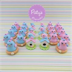 Apliques Passarinhos / Jardim Encantado - Festa Infantil - Paty's Biscuit