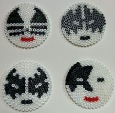 Hama beads, perler beads