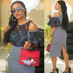 The latest collection of beautiful stylish ankara gown styles for ladies in trendy ankara gown styles you'd love African Wear Dresses, Latest African Fashion Dresses, African Print Fashion, Africa Fashion, African Attire, Ankara Fashion, Fashion Hub, African Prints, African Fabric