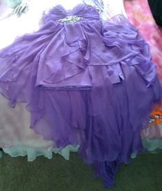 "homecoming ""High-Low"" dress(:"