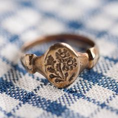 Bronze Feverfew Ring in New Gifts at Terrain