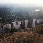 After nine years in LA, first visit to the Hollywood sign.