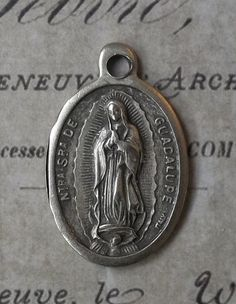 Our Lady Of Guadalupe Patron of the Americas, Blessed Virgin Mary Mother Of God, Pray For Us Italian Holy Medal Religious Catholic Medallion Mary Of Guadalupe, Pray For Us, Blessed Virgin Mary, Pray For America, Our Lady, Catholic Religion, Angels Among Us, Faith Hope Love, Before Us