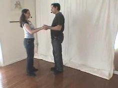 Swing dancing basics, Part 2: Basic step, in open