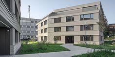 Building Plans, Multi Story Building, Arch House, Innovation Design, Paths, Architecture, Solothurn, Human Settlement, Floor Plans