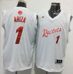 2e40cda9ac39  21 Houston Rockets  1 Trevor Ariza adidas White 2016 NBA Christmas Day  Men s Stitched Swingman