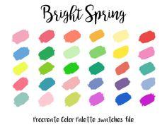 Spring Color Palette, Colour Pallette, Spring Colors, Clear Spring, Bright Spring, Pastel Colors, Neutral Colors, Bright Colors, Colours