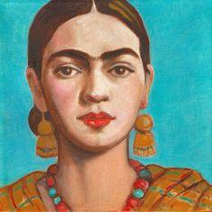 30% off hoy Frida Kahlo lona impresión envoltura Frida poster