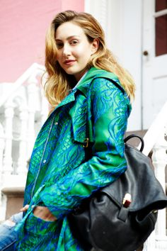 I think this coat is so ME! What Our Editors Wore To NYFW #refinery29