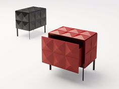 BEL.MONDO Bedside table by ARKOF LABODESIGN design Bruno Rainaldi