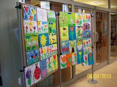 Galeria | Wystawa prac plastycznych dzieci z Przedszkola Samorządowego w Niemojkach | Biblioteka Pedagogiczna im. Heleny Radlińskiej w Siedlcach