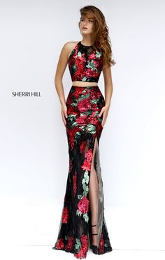 Sherri Hill 50249 Sherri Hill Prom Dresses, Prom Dresses 2017, Formal Dresses, Women's Dresses, Dresses Online, Stunning Dresses, Pretty Dresses, 2 Piece Lace Dress, Couture Dresses