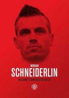 Morgan Schneiderlin Man United, Manchester United, The Unit, Football, Club, Game, Twitter, Red, Soccer