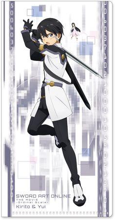 Kirito | Sword Art Online -Ordinal Scale- | Anime Movie | Ticket Clear File