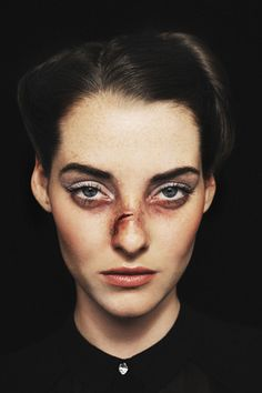 Not For The Squeamish: Is This Violent Editorial Art Or Exploitation?+#refinery29
