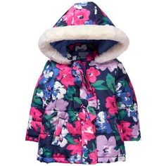online shopping for Gymboree Girls' Toddler Floral Print Puffer Jacket from top store. See new offer for Gymboree Girls' Toddler Floral Print Puffer Jacket Girls Puffer Jacket, Puffer Jackets, Boys Winter Jackets, Kids Coats, Boys Hoodies, Gymboree, Boy Outfits, Girl Fashion, Girls Dresses