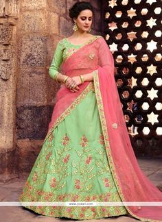 Other Women's Clothing Designer Bridal Collection Online Pink Lengha Indian Pakistani Wedding Lehenga Clear-Cut Texture