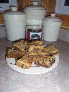 Cooking With Libby: EZ Chocolate Chip Bars {Life By Jill Marie}