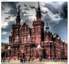 Moscow   Sure would love to see this building up close and personal.
