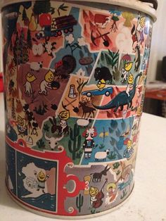 Vintage Skotch Kooler Esso Happy Motoring Map Thermos Water Jug