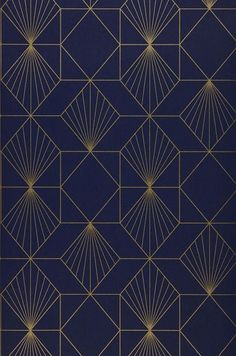 Ideas For Geometric Art Deco Pattern Design Moda Art Deco, Arte Art Deco, Estilo Art Deco, Art Deco Print, Art Prints, Geometric Patterns, Textures Patterns, Geometric Art, Blue Patterns