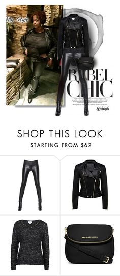 """""""My Style!!"""" by lashandanista ❤ liked on Polyvore featuring Alexander McQueen, Forever New, Jovonna and MICHAEL Michael Kors"""