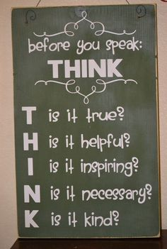 Speak, instead of what's in it for you, what's in it for the person you speak about!