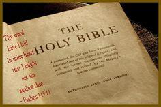 Psalms 119:11  KJV  - Good Bible Memory Verse to learn.