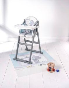 The Tiny Tatty Teddy Highchair Features An Adorable Print Of The Little  Blue Nosed Bear, · Tatty TeddyFold OverTrayEast CoastHigh ...