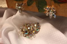 KRAMER Earrings and Brooch Wonderfully Vintage by VintagebyViola, $55.00 save more on Mother's Day Special