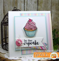 It's time for a NEW sketch over at Retro Sketches ! Today's card features the NEWLY released Sweet Thing stamp set by illustrato. Stamp Tv, Studio Cards, Luxury Card, Cute Cards, Card Stock, Birthday Cards, Projects To Try, Card Making, Messages