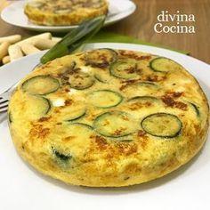 Esta tortilla de calabacines al queso es muy fácil de preparar y tienes al momento un plato sabroso y natural para todos.