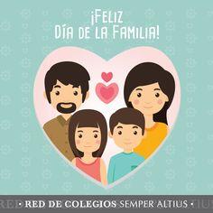 La familia es donde comienza la vida y el amor nunca termina. ¡Feliz Día de la Familia! #DíadelaFamilia #SemperAltius