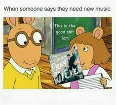 Anything by Linkin Park, Panic! At The Disco, Green Day, or MCR is the good shit Emo Band Memes, Mcr Memes, Emo Bands, Music Bands, Rock Bands, Music Stuff, My Music, Music Logo, Rock Music