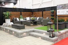 amenagement cour arriere - Bing Design Cour, Patio Plans, Outdoor Furniture Sets, Outdoor Decor, Backyard Patio, Garden Projects, Outdoor Living, Fences, House Ideas