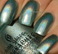China Glaze - Don't be a luna-tic