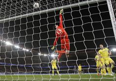 Thibaut Courtois, Belgium (KRC Genk, Chelsea FC, Belgium) during the match against PSG #soccer #goalkeeper #greatsaves