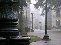 La Ciudad Vieja bajo la lluvia