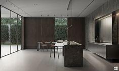Master Bedroom Layout, Bedroom Layouts, Luxury Interior, Interior Architecture, Interior Design, 2 Storey House Design, Courtyard Design, Closet Lighting, Modern Wall Sconces