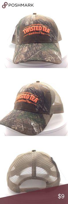 Twisted Tea Realtree Xtra Camo Snapback Ballcap 75e119441f2d