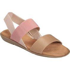 Womens Sandals Aerosoles Savant Nude Combo