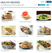 What can I eat on the Optifast® VLCD™ program?