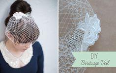 DIY-Birdcage-Veil - Read more on One Fab Day: http://onefabday.com/diy-birdcage-veil/
