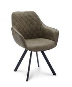 Eetkamerstoel San Francisco - Antraciet - Lok Living Armchair, Chicago, Furniture, Home Decor, San Francisco, Products, Sofa Chair, Single Sofa, Decoration Home