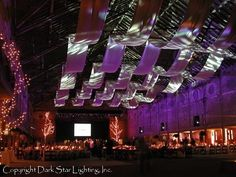 What great lighting can do for your wedding!
