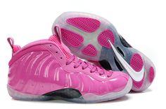 designer fashion c8a36 ba522 Nike Air Foamposite Pro Women Pink! 63.30USD Pink Foamposites, Blue  Basketball Shoes,
