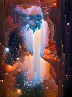This is not a hyper realist painting but a photograph of a star forming, courtesy of @HUBBLE_space